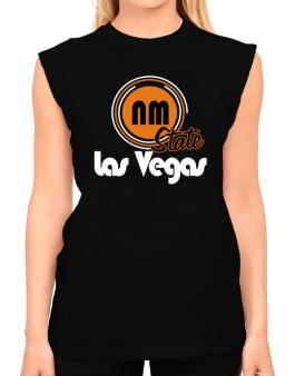 Las Vegas - State T-Shirt - Sleeveless-Womens