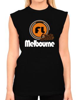 Melbourne - State T-Shirt - Sleeveless-Womens