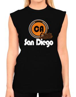 San Diego - State T-Shirt - Sleeveless-Womens