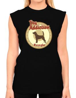 Dog Addiction : Beagle T-Shirt - Sleeveless-Womens