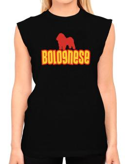 Breed Color Bolognese T-Shirt - Sleeveless-Womens