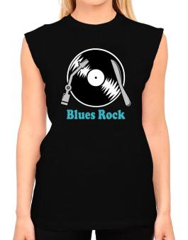 Blues Rock - Lp T-Shirt - Sleeveless-Womens