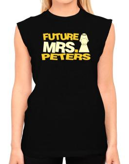 Future Mrs. Peters T-Shirt - Sleeveless-Womens