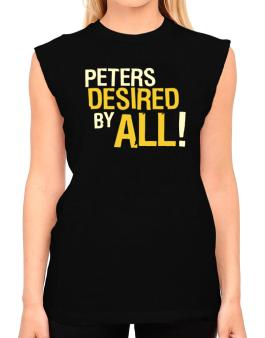 Peters Desired By All! T-Shirt - Sleeveless-Womens