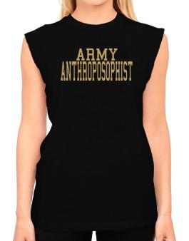 Army Anthroposophist T-Shirt - Sleeveless-Womens