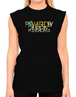 Powered By American Polydactyls T-Shirt - Sleeveless-Womens