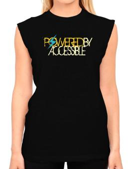 Powered By Accessible T-Shirt - Sleeveless-Womens