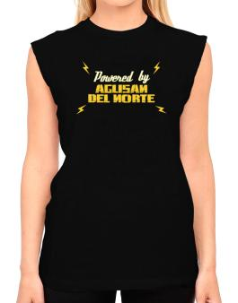 Powered By Agusan Del Norte T-Shirt - Sleeveless-Womens