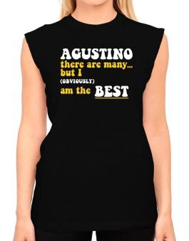 Agustino There Are Many... But I (obviously) Am The Best T-Shirt - Sleeveless-Womens