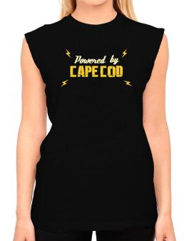 Powered By Cape Cod T-Shirt - Sleeveless-Womens
