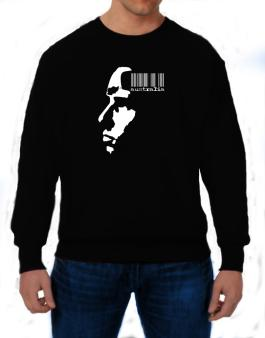 Australia - Barcode With Face Sweatshirt