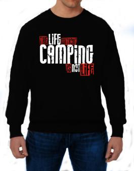 Polera de Life Without Camping Is Not Life