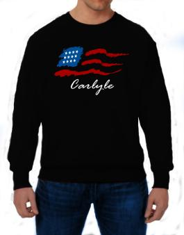Carlyle - Us Flag Sweatshirt