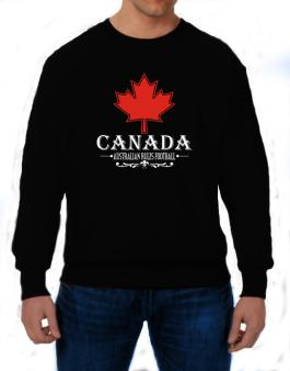Maple / Canada Australian Rules Football Sweatshirt