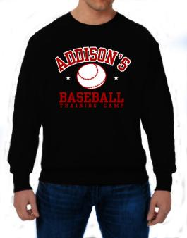 Addisons Baseball Training Camp Sweatshirt