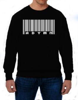Bar Code Adymn Sweatshirt