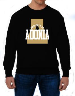 Property Of Adonia Sweatshirt