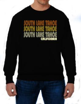 South Lake Tahoe State Sweatshirt