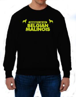 Polera de Property Of My Belgian Malinois