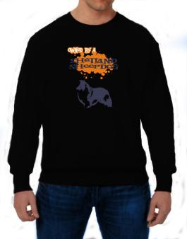 Owned By A Shetland Sheepdog Sweatshirt