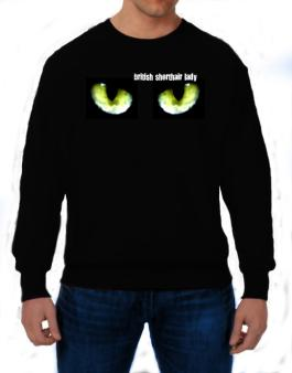 British Shorthair Lady Sweatshirt