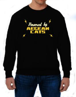 Powered By Aegean Cats Sweatshirt