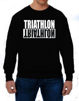 Triathlon Negative Sweatshirt