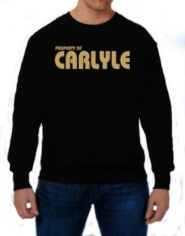 Property Of Carlyle Sweatshirt