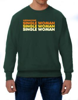 Hermione Single Woman Sweatshirt