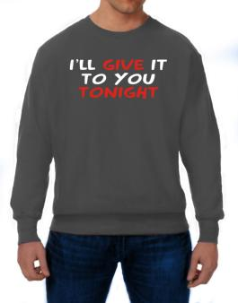 Polera de I´ll Give It To You Tonight