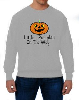 Little Pumpkin On The Way Sweatshirt