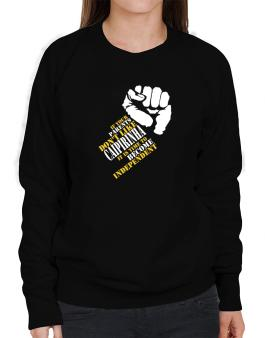 If Your Parents Dont Like Caipirinha, Its Time To Become Independent Sweatshirt-Womens