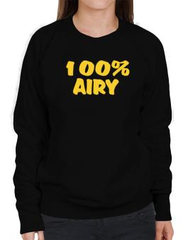 100% Airy Sweatshirt-Womens