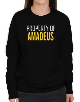 Property Of Amadeus Sweatshirt-Womens