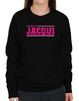 Property Of Jacqui - Vintage Sweatshirt-Womens