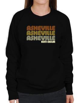 Asheville State Sweatshirt-Womens