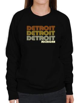 Detroit State Sweatshirt-Womens