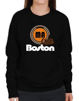 Boston - State Sweatshirt-Womens