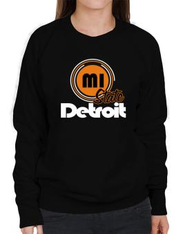 Detroit - State Sweatshirt-Womens