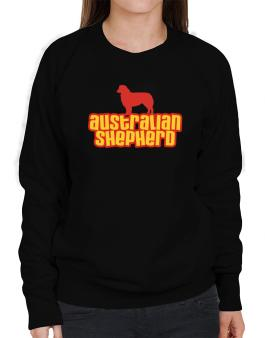 Breed Color Australian Shepherd Sweatshirt-Womens