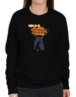 Owned By An Australian Shepherd Sweatshirt-Womens
