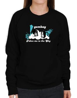 Gombay Takes Me To The Sky Sweatshirt-Womens