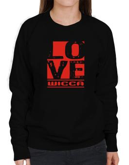 Love Wicca Sweatshirt-Womens