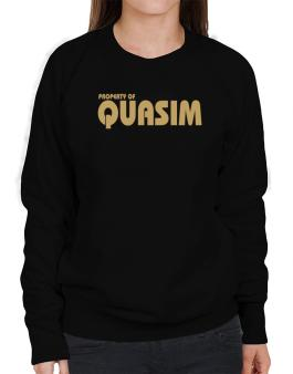 Property Of Quasim Sweatshirt-Womens