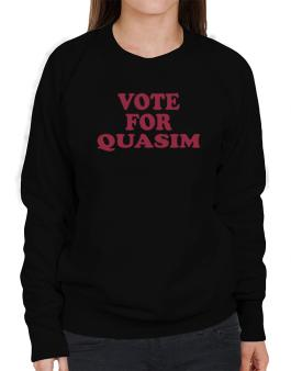 Vote For Quasim Sweatshirt-Womens