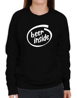 Drunk Inside Sweatshirt-Womens
