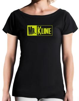 Mr. Kline T-Shirt - Boat-Neck-Womens
