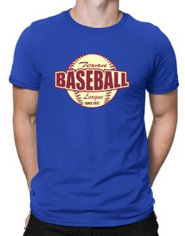 Baseball League Texan Men T-Shirt