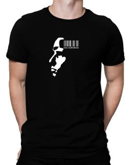 New Caledonia - Barcode With Face Men T-Shirt