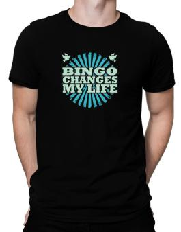 Bingo Changes My Life Men T-Shirt